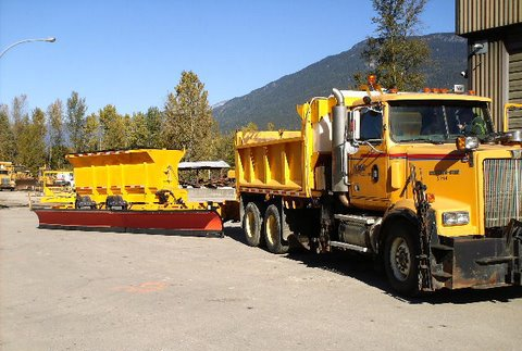 Bc Ministry Of Transportation Snow Plows Vancouver Island