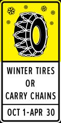 Winter Tire & fines in BC