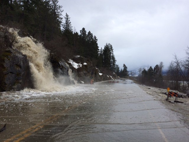 freshet on BC highways