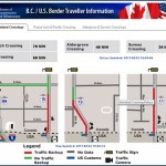 information on your border wait times
