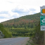 Yellowhead Highway in Smithers