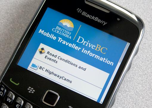In the Know, on the Go…with DriveBC Mobile