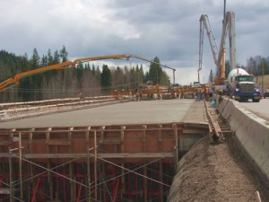 Work on the Cariboo Connector