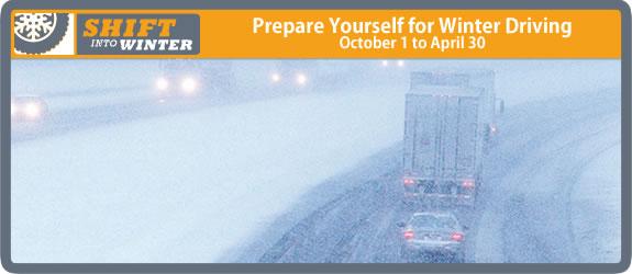 Prepare Yourself for Winter Driving