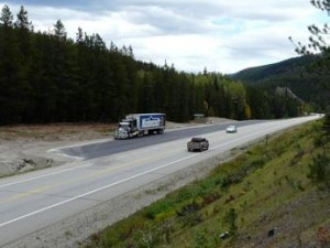 Pulling for Heavy Haulers on BC Highway 16