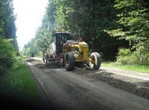 Gulf Island road work