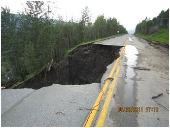 Before: Near Grizzly Creek, on Hwy 97 in the Pine Pass, south of Chetwynd.