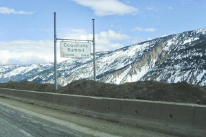 Maintaining Safety – Winter on the Coquihalla