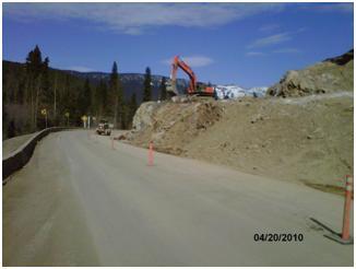 Pine Pass gets straightened