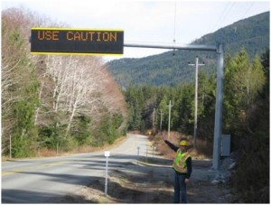 Intelligent Transportation Systems on BC Highway 4