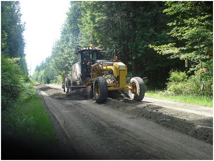 Resurfacing and repaving Island Highways