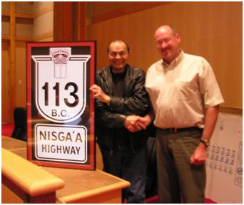 Highway 113 and Nisga'a Highway