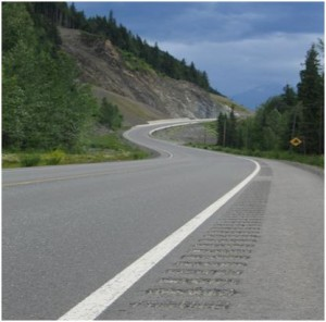 the Ministry of Transportation and Infrastructure is installing more rumble strips this summer, along Highways 16, 29, 39, 49, 97 and 97A