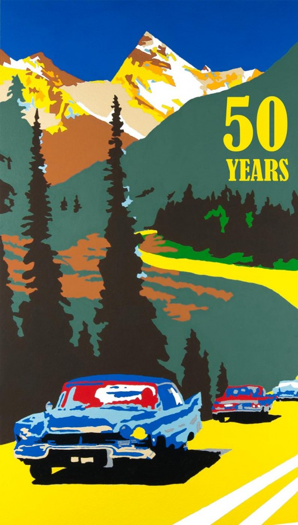 Captured on Canvas – The Trans-Canada Highway's 50th Anniversary