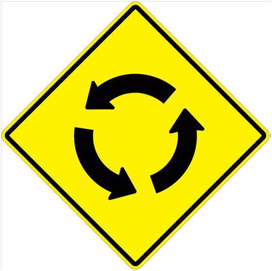 circular intersection