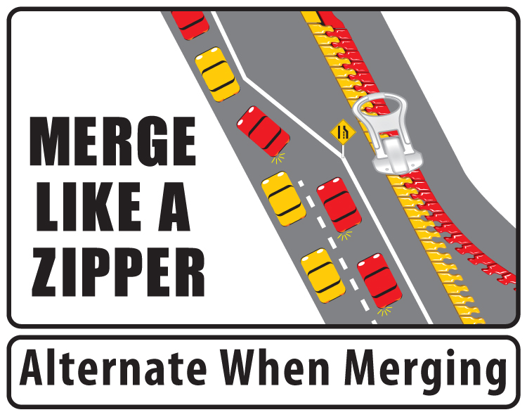 how to properly merge on a highway
