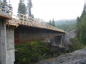 Port Renfrew, is getting safer for Highway 14 crossing