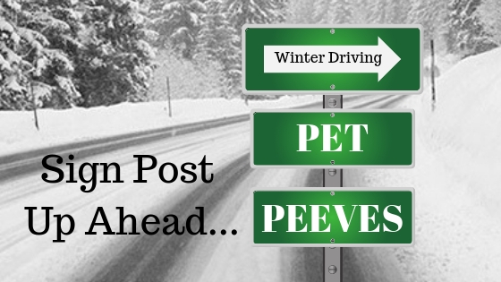 Driving Pet Peeves
