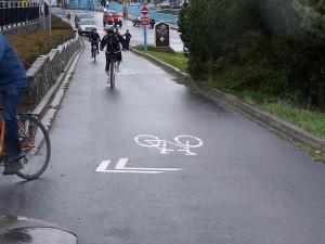 Photo courtesy of John Luton, Capital Bike and Walk Society, Victoria, BC
