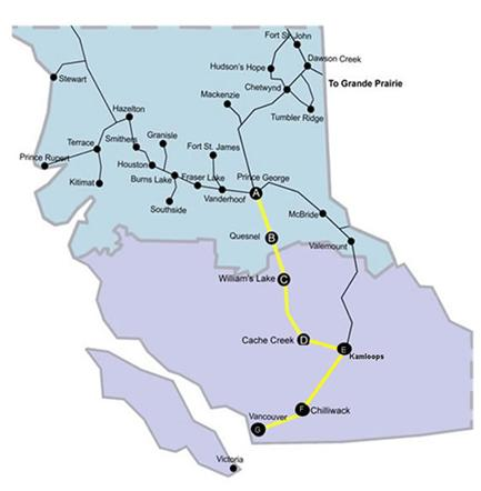 Northern Health Connections routes