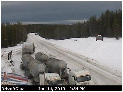 Webcam DriveBC Yukon Border BCHwy37 Highway37