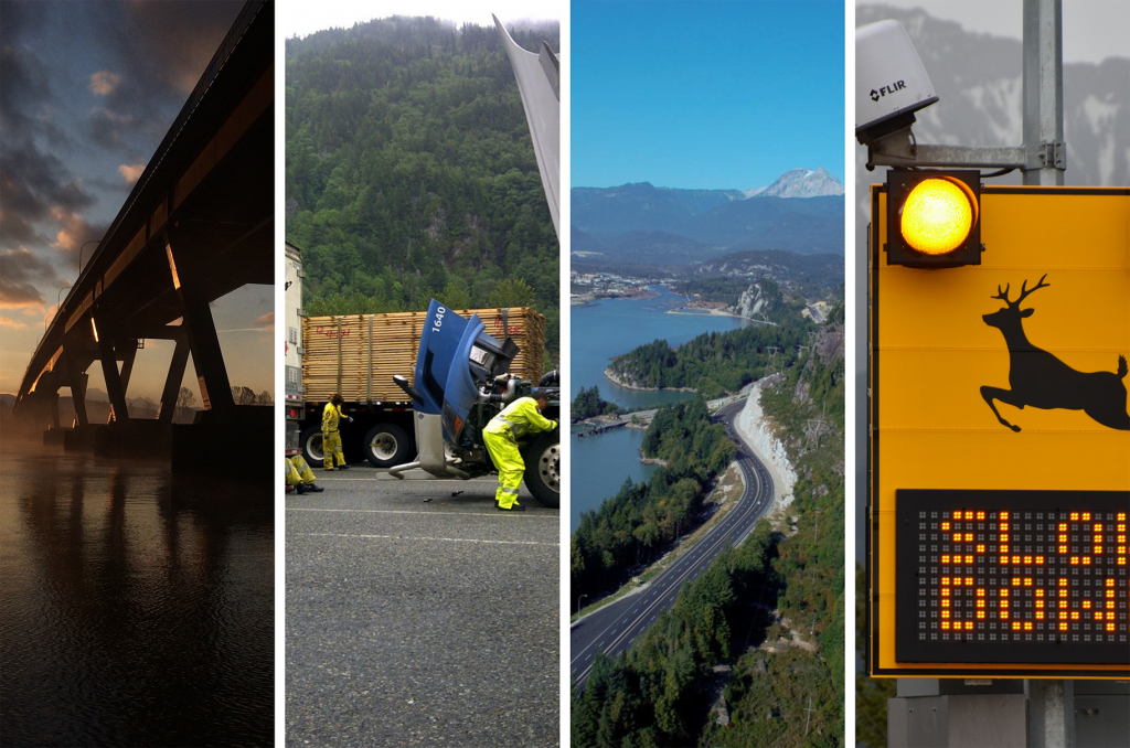 A summary of what the BC Ministry of Transportation and Infrastructure is responsible for