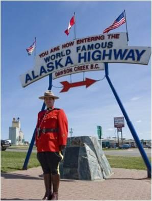 Driving the Alaska Highway