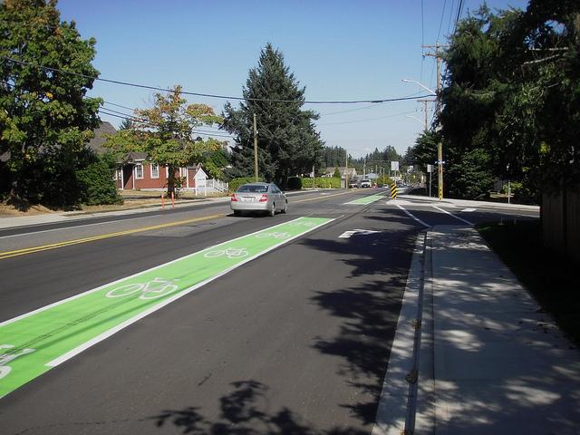 Courtenay Bike Lane