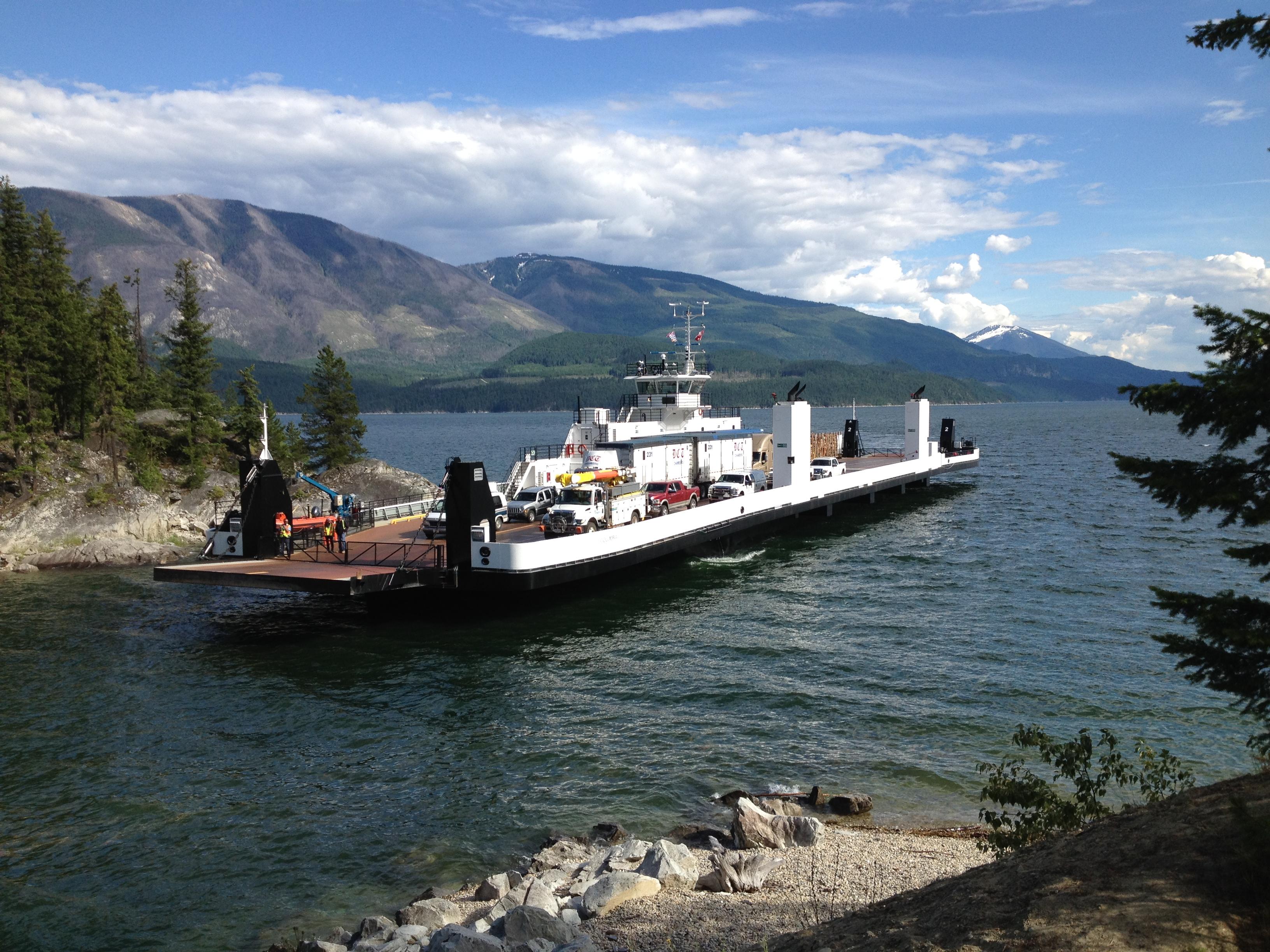 MV Columbia, Upper Arrow Lake, 2014