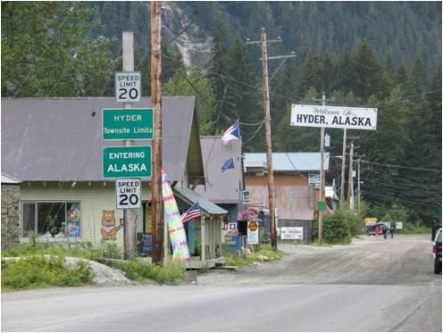 Hyder Main Street