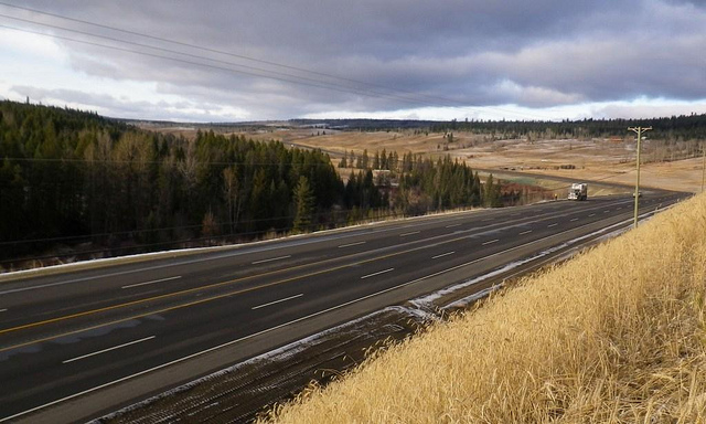 speed limits on BC Highways