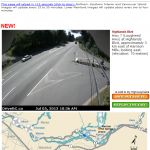 BC highway webcam