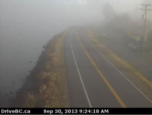 BC highway webcam Highway 16