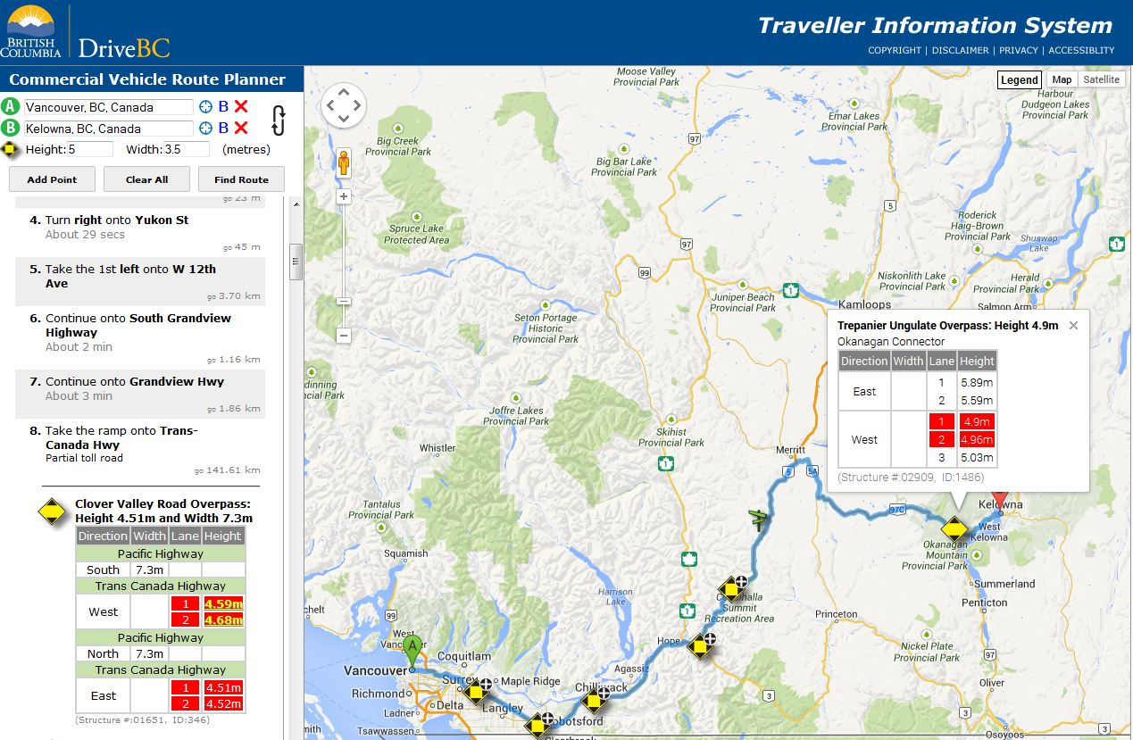 Commercial Haulers: We Have a New Tool for You – Tell Us What You Think.  TranBC