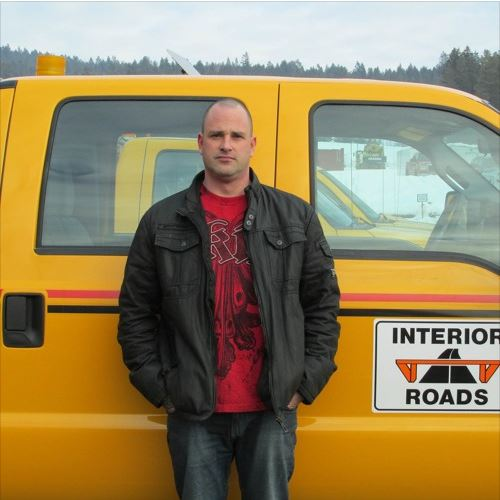 Interior Roads Equipment Supervisor Rob Schwartz