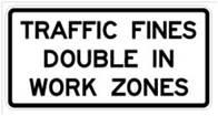 Double in Work Zones