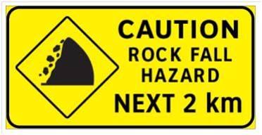 Rockfall Hazard