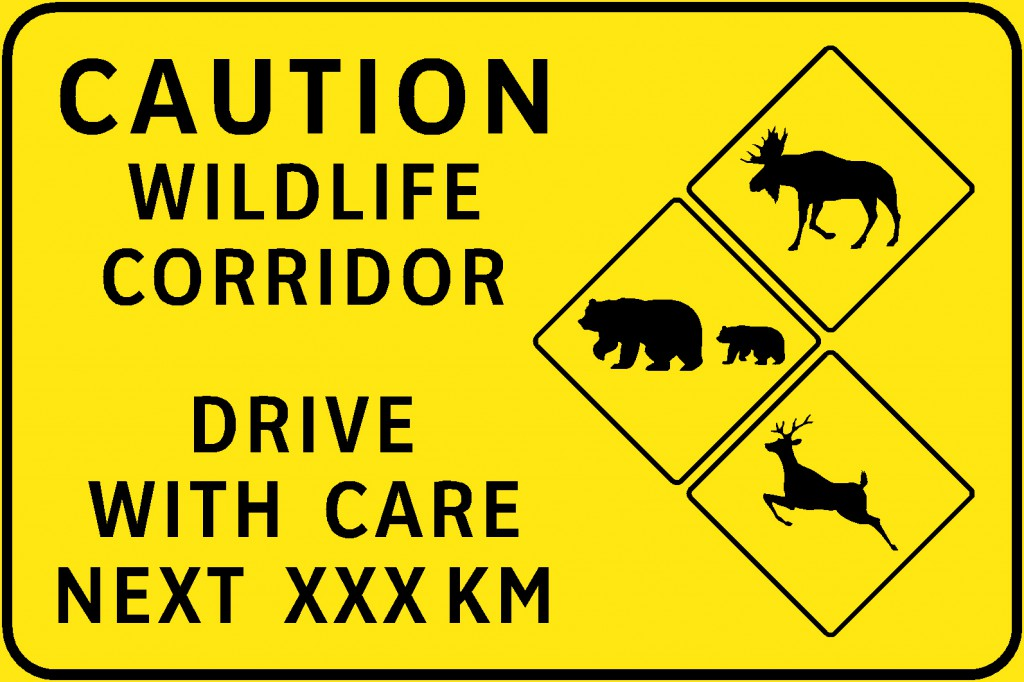 new bc highway sign