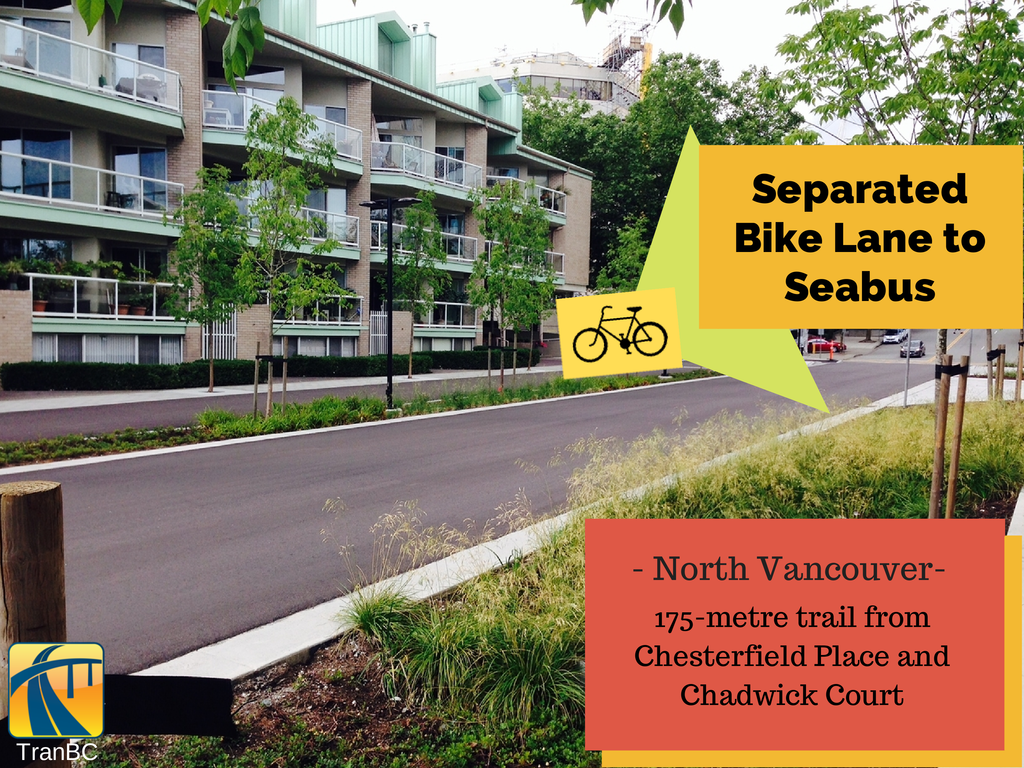 North Vancouver Bike Lane