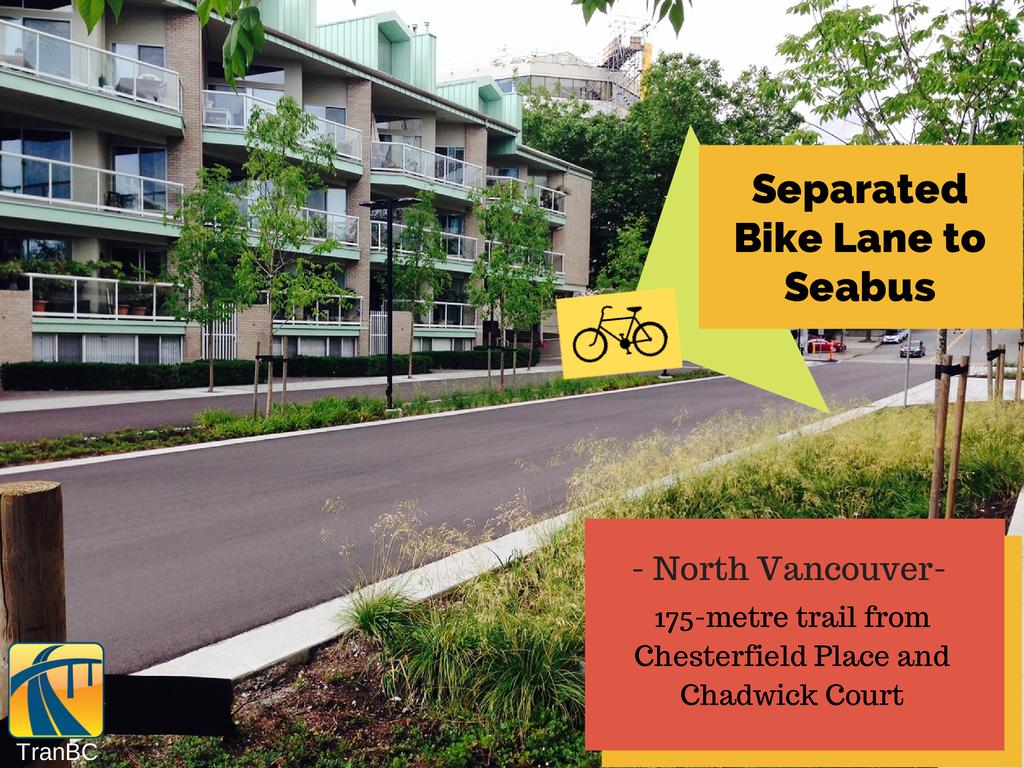 North Vancouver Bike Lane