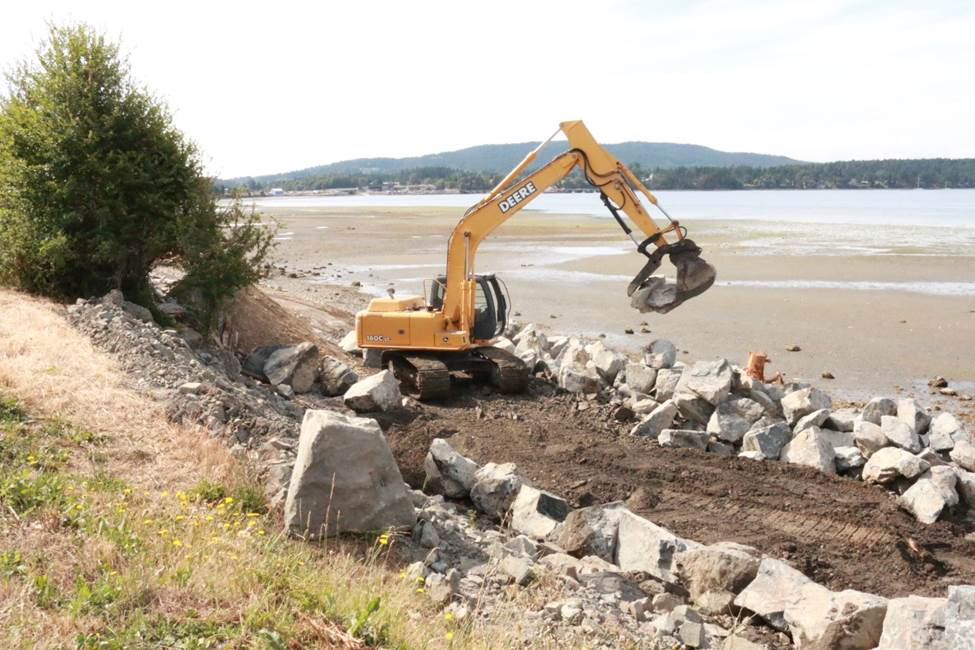 Tseycum Pat Bay Restoration Beach