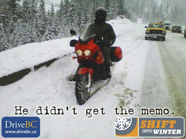 Coquihalla Motorcycle Memo