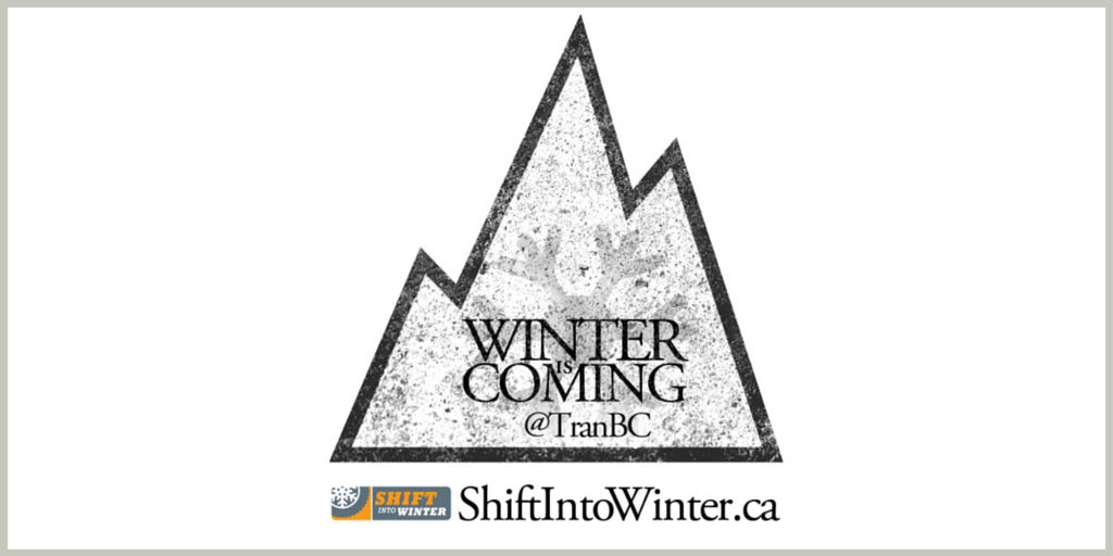 Winter is Coming Shift into Winter 3 peak mountain for winter tires