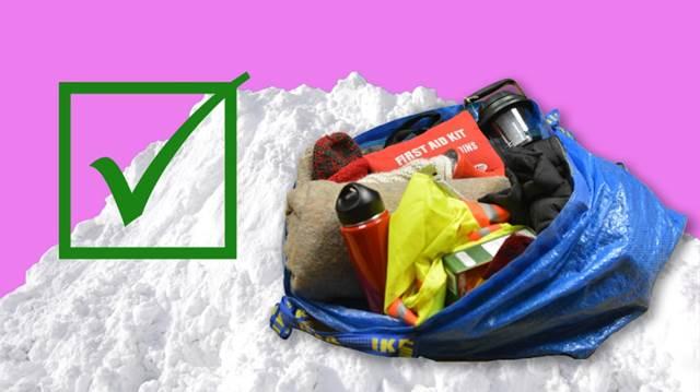 big bag for winter preparedness