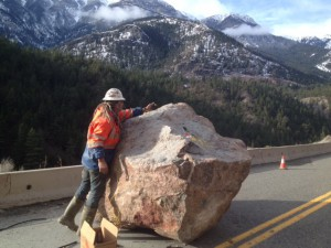 Lytton rock slide