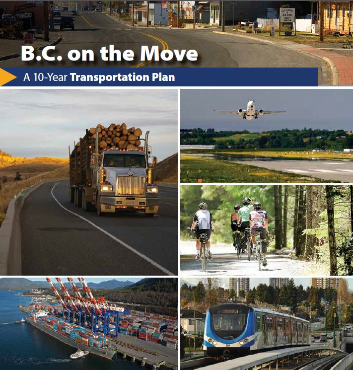 10 year BC Transportation Plan