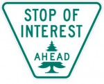 stop of interest sign