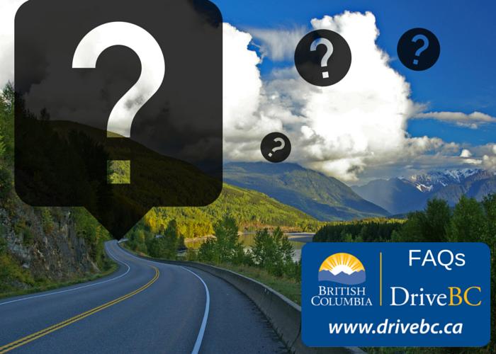Drive BC FAQs