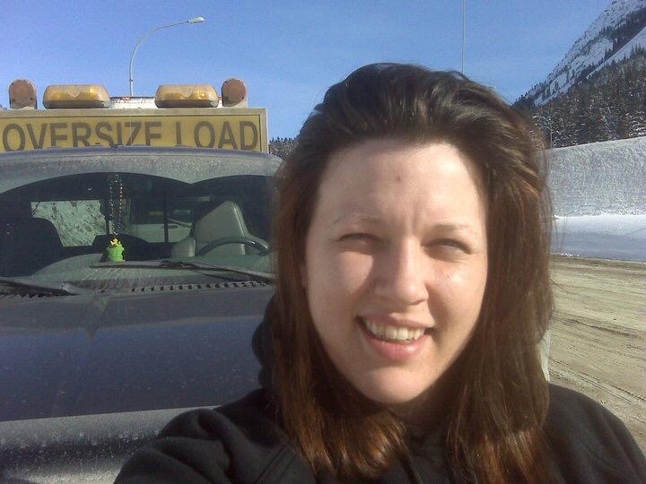 Jeannine MacKinnon Pilot Car Driver