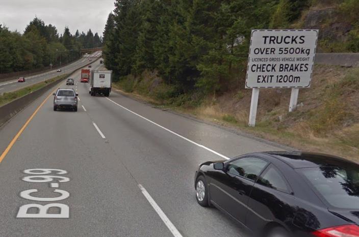 brake check sign